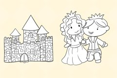 Princess and the Pea Story Book Stamps Product Image 5