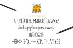 Spring Holiday | 3 Handwritten Font Product Image 5