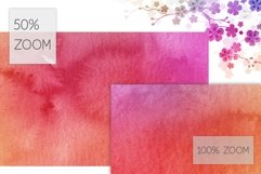10 Huge Seamless Rainbow Watercolor Textures Product Image 4