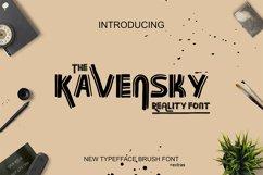 Kavansky Logo Font Product Image 1