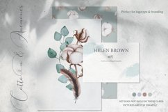 Cotton & Anemones Watercolor Set Product Image 2