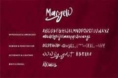 Web Font Margeli - Brush Font Product Image 6