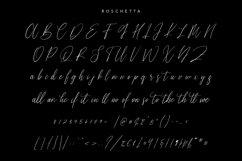 Roschetta Script Handmade Calligraphy Signature Product Image 2