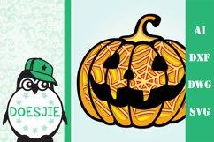 3d mandala Halloween svg bundle 5 designs Product Image 3