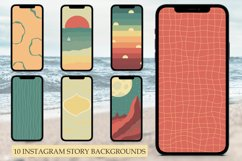 10 Instagram Story Backgrounds, Instagram Templates Product Image 1