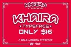 KHAIRA TYPEFACE Product Image 3