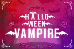 Halloween Vampire Display font Product Image 1