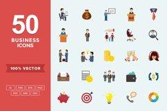 Flat Icons Business Set Product Image 1