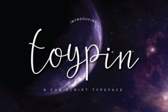 Toypin Typeface Product Image 1