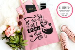 Sloth SVG Bundle - Relaxed & Fun Sloths PNGs Product Image 9