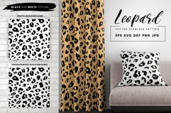 Leopard Print Seamless Pattern Repeat Animal Texture SVG EPS Product Image 1
