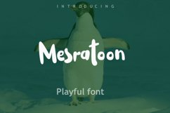 Mesratoon Font Product Image 1