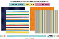 Colorful printable paper for children's parties Product Image 3