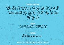 Marqhuis Brush font Product Image 3