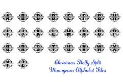 Christmas Holly Monogram & Split Alphabet Duo Product Image 3