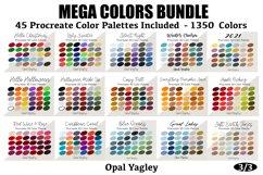 Procreate Color Palette Bundle -MEGA Pack 1350 Colors Product Image 2