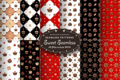 Sweet Seamless Patterns. Watercolor illustrations in Realism Product Image 3