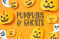 Broomstick - With Doodles - A Halloween Font Duo Product Image 2