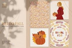Hello Fall Abstract Art Set Product Image 1
