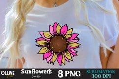 Sunflowers Sublimation Bundle, Sunflower Sublimation PNG Product Image 2