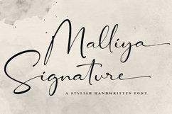 Signature Font - Malliya Product Image 1