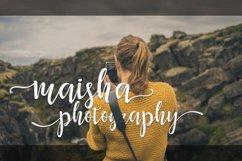 Maisha Script | WEB FONT Product Image 4