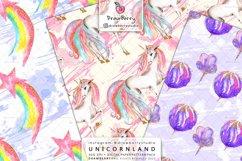 Magical Unicorn Digital Patterns Cute Pastel Colors DP011 Product Image 5