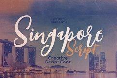 Singapore Script Font Product Image 1