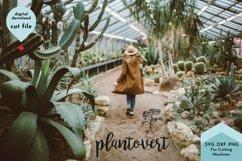 Funny Plant svg, Plant Mom, Gardening, Plantovert Product Image 3