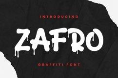 Web Font Zafro Font Product Image 1