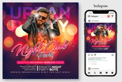 Night Club Party Flyer Product Image 1