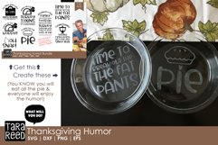 Thanksgiving Humor - Thanksgiving SVG files for Crafters Product Image 2