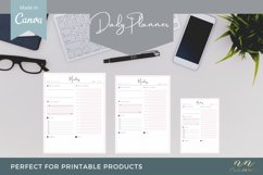 Daily Planner Canva Template for Printable Products Product Image 4