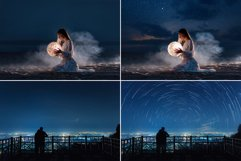 60 Night and Starry Sky Photo overlays Product Image 2