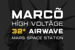 (NEW) Marsek - A Solid Display Font Product Image 5