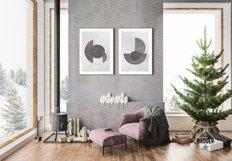 Christmas Interior Bundle - Frame & Canvas Mockup Creator Product Image 6