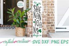 St. Patrick's Day Porch Sign 10x36 Bundle SVG, DXF, PNG, EPS Product Image 4
