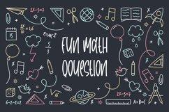 Classroom - Fun Handwritten Font Product Image 4