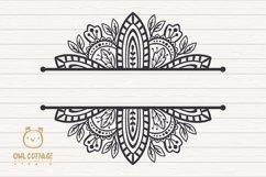 Fall Mandala Monograms svg, Fall monograms mini bundle, Autu Product Image 4