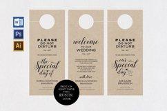 wedding door hanger, TOS_46 Product Image 1
