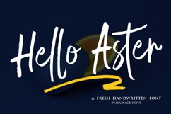 Hello Aster Product Image 1