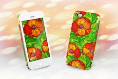 8 red poppy flowers backgrounds Product Image 1