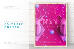 Incarnadine Christmas / Layered PSD Product Image 1