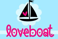 Loveboat - A Cute Font with Hearts Product Image 1