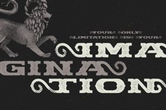 Chimera Tail, font + illustration Product Image 4