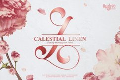 Monogram Calestial Linen Product Image 1