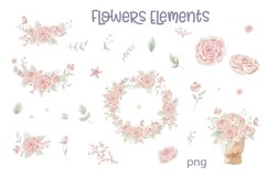 Watercolor Clipart Knitting Product Image 2