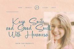 Web Font Cleona Font Product Image 2