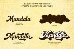 Basuki Script Font Product Image 4
