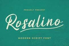Web Font Rosalino Font Product Image 2